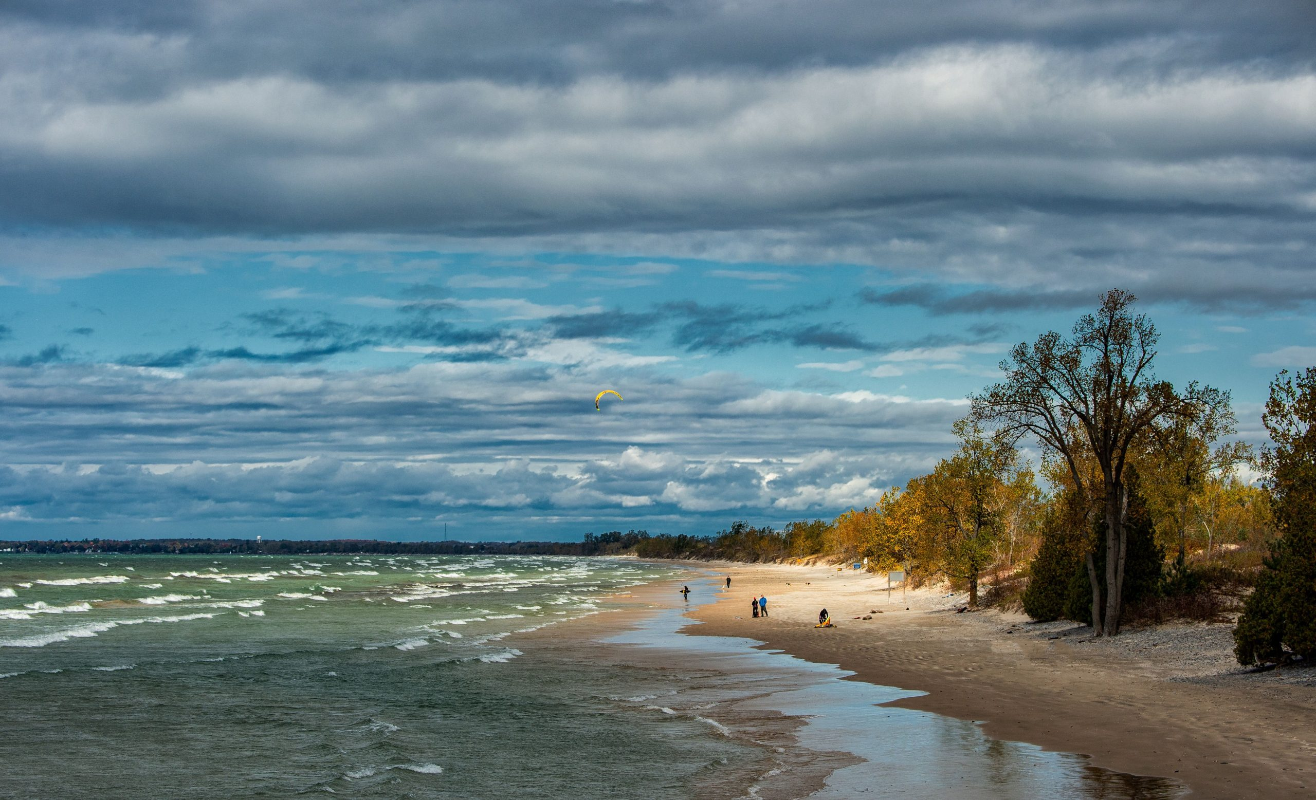 Beach at Sandbanks Provincial Park