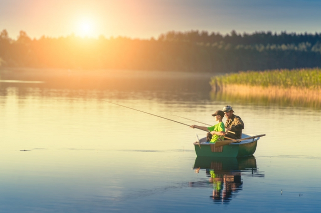 fishing, sunrise, suntset, trout, bass, pike, walleye, pickerel, salmon